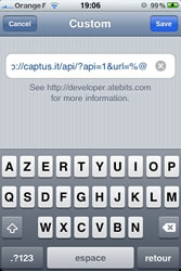 twitter pour iphone